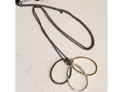Three Ring Necklace - Emmis Jewelry,