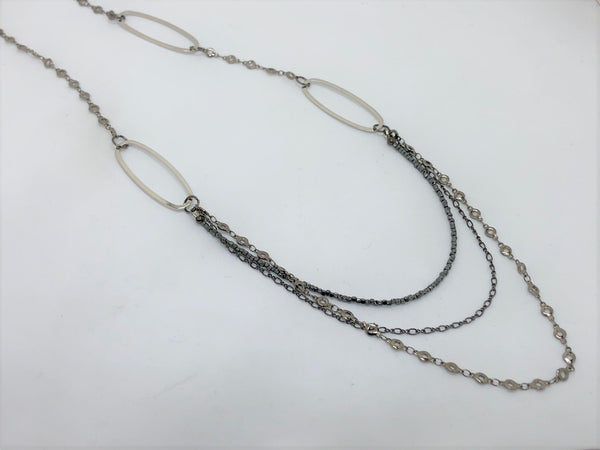 Triple Chain Necklace - Emmis Jewelry,
