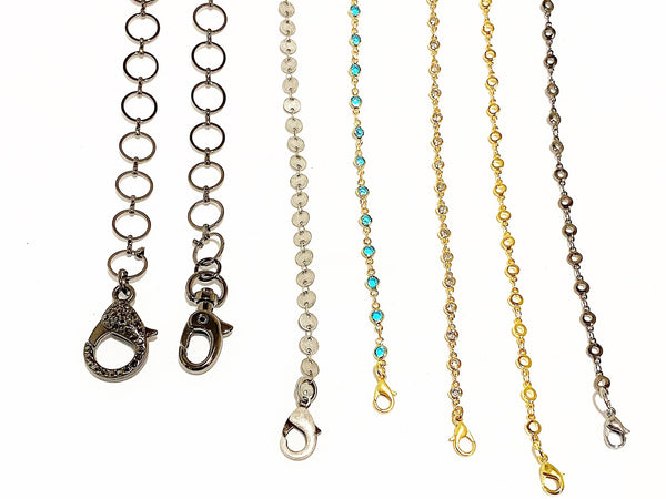 Seashell Circle Chain Mask Chains circle-chain-mask-chains Mask Chain