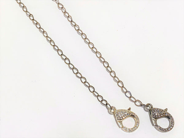 Teardrop Chain Mask Chains - Emmis Jewelry,