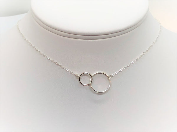 Gray Forever linked necklace forever-linked-necklace Necklace