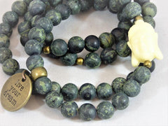 Matte Rhyolite Wrap - Emmis Jewelry, Necklace, Bracelet, [product_color]