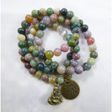 Green Jasper Wrap - Emmis Jewelry - 1