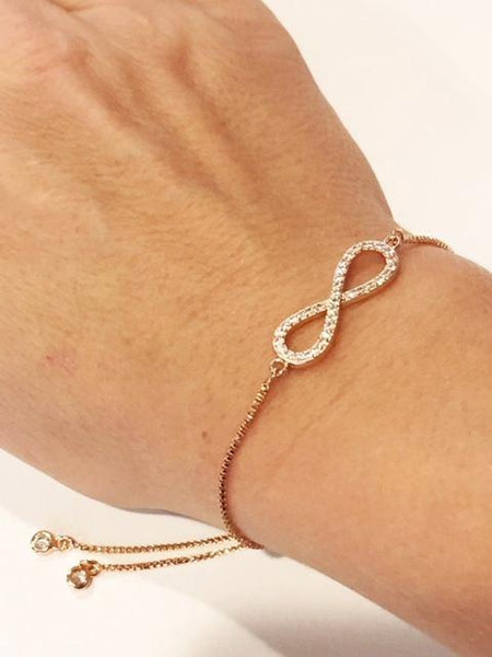 Infinity Chain Bracelets - Emmis Jewelry, Bracelet, [product_color]