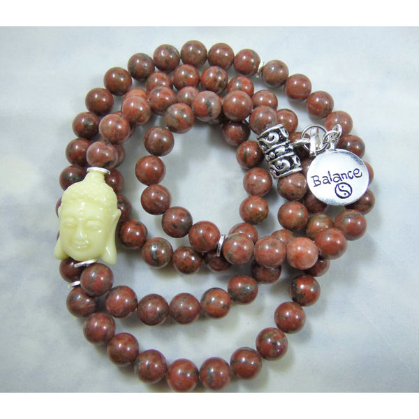 Red Jasper Wrap - Emmis Jewelry, Necklace, Bracelet, [product_color]