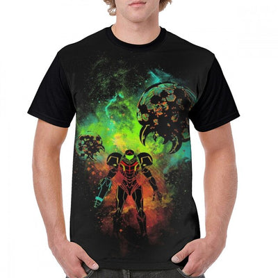 Metroid T Shirt Bounty Hunter Of Space
