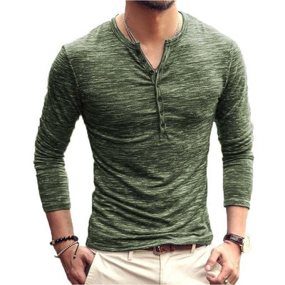 Long Sleeve Stylish Slim Fit Tee