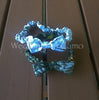Child's soft elastic Headband Camo print with small bow