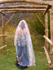 VEIL+FULL LENGTH with LEAVES Country Rustic Wedding