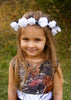 camo flower girl dress
