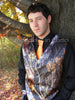 mens camo wedding vest