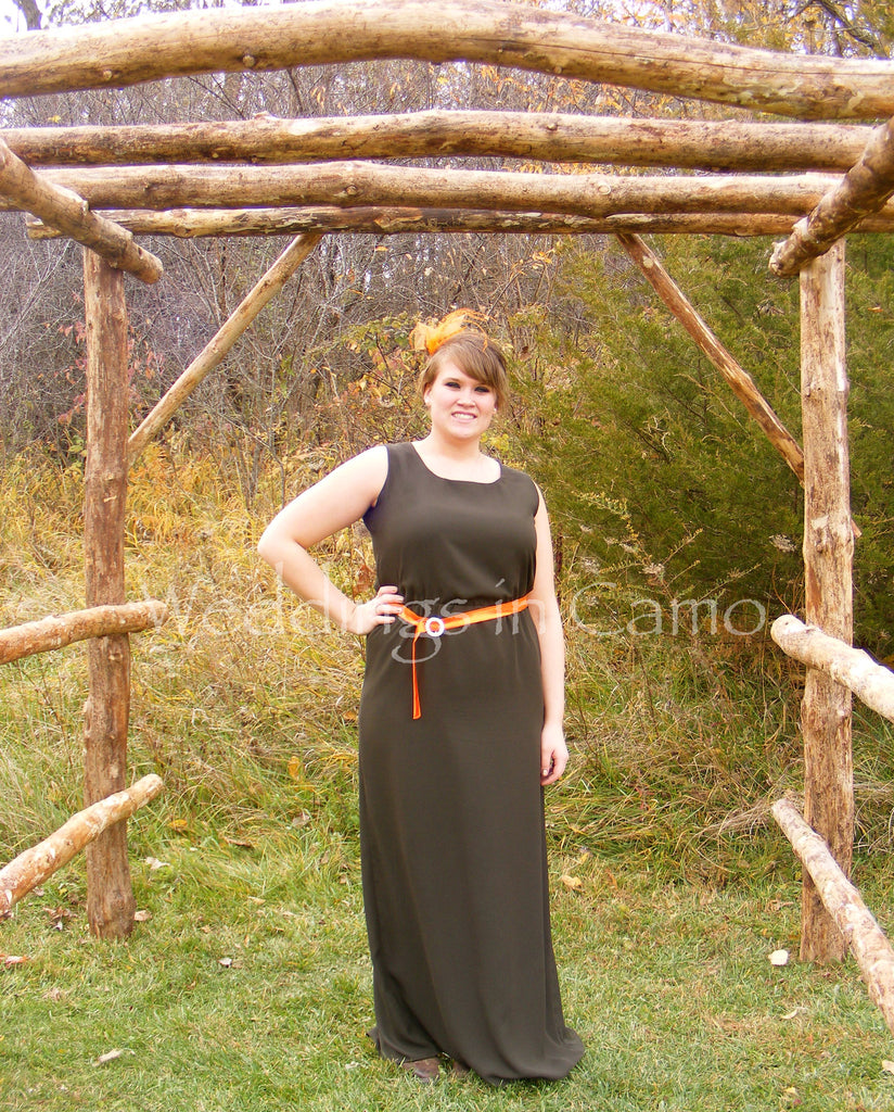 LONG Bridesmaid dress, PLUS SIZES Country COLORS