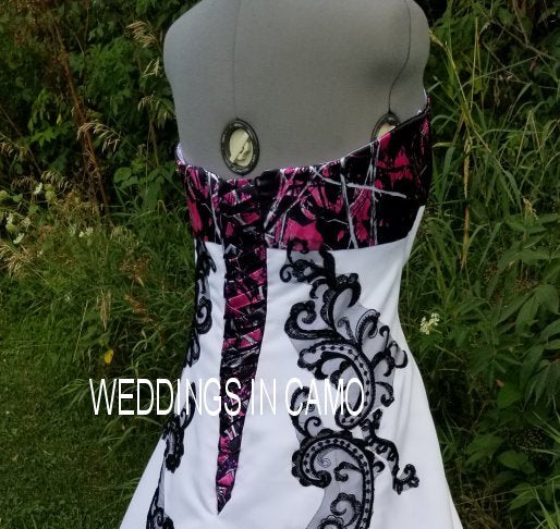 CAMO Corset ties for your wedding dress