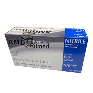 Nitrile Medical Gloves - Premium - AK Medical Supplies