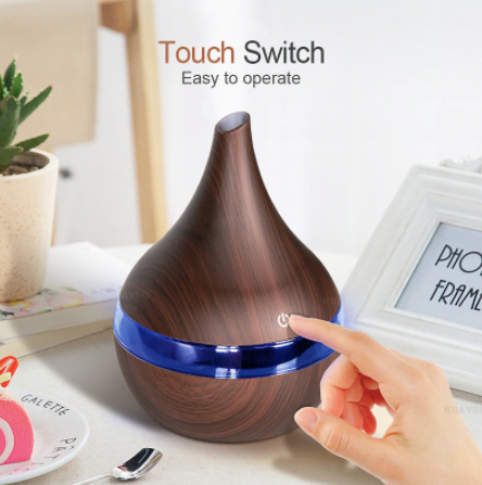 300ml USB Electric Aroma Air Diffuser With Wood Grain
