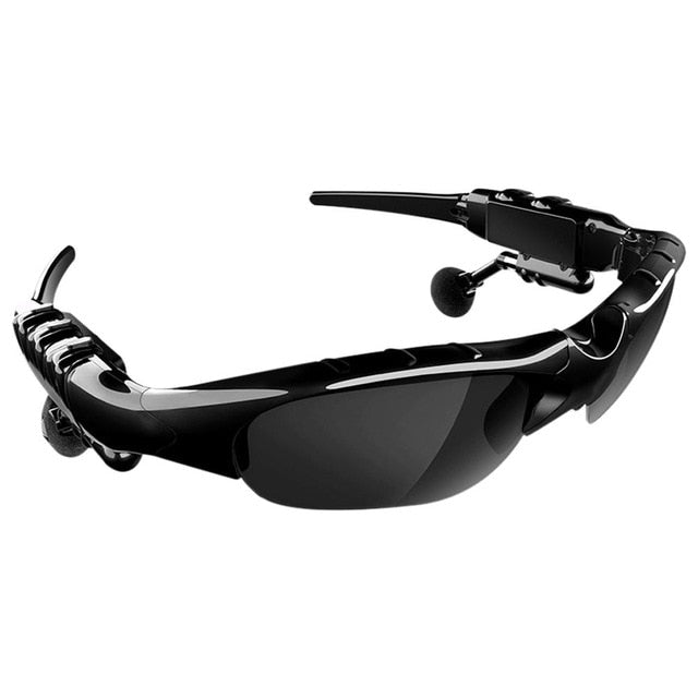 Smart Bluetooth Wireless Outdoor Sports Sunglasses With Headphone Earbuds