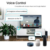 Universal Smart Remote Control WiFi + Infrared Home Control Hub Works with Google Assistant, Alexa, Siri