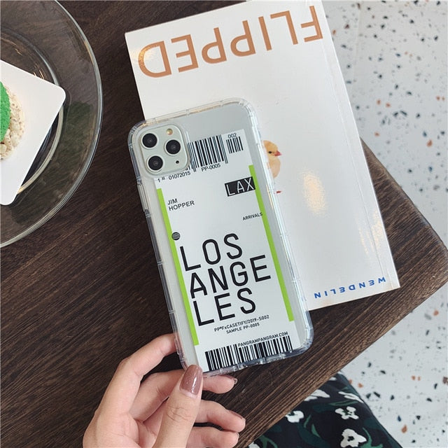 Itinerary iPhone Case