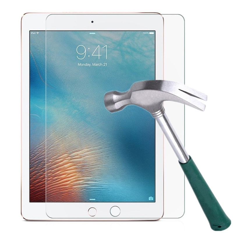 Tempered Glass Film Screen Protector for iPad