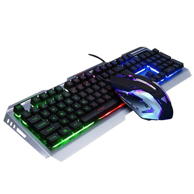 Gaming Mechanical Keyboard Mouse Set