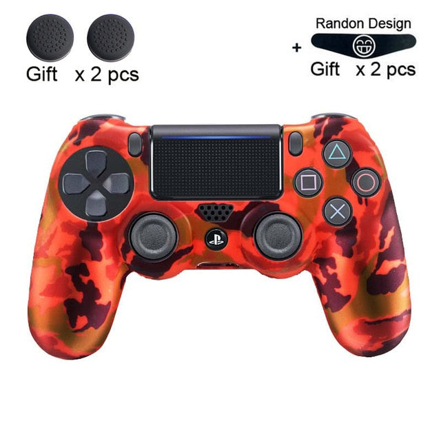Soft Flexible Silicone Protection Skin For Playstation PS4