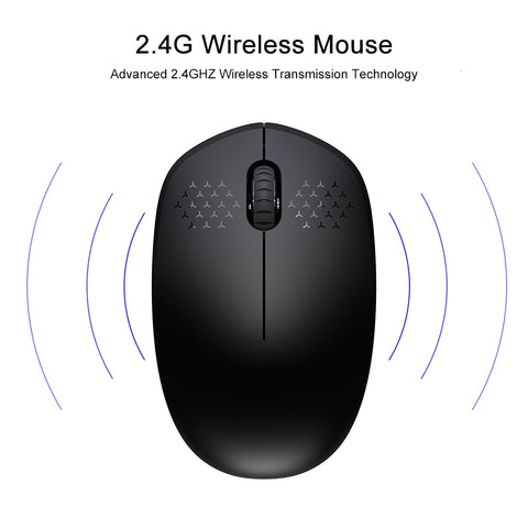 Silent Wireless Mouse For Computer Or Laptop