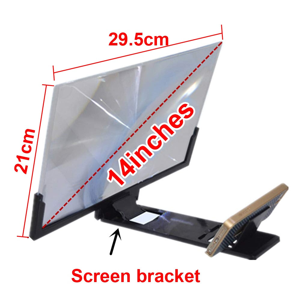 14 inch Screen Magnifier For Smartphone