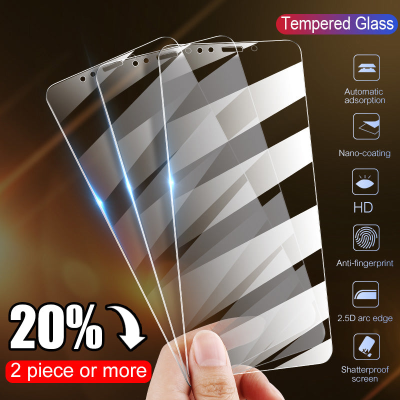 Full Cover Protective Glass Screen For Phone