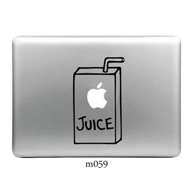 Vinyl Decal Laptop Stickers for Apple MacBook Pro/Air 13 inch