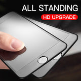 Anti Fingerprint Matte Tempered Glass Screen Protector For iPhone
