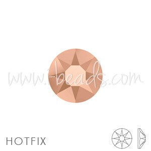 Strass Swarovski 2078 hot fix crystal rose gold SS12-3mm (80) - LaMercerieDesCopines