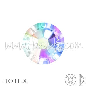Strass Swarovski 2078 hot fix flat back crystal ab ss16-4mm (60) - LaMercerieDesCopines
