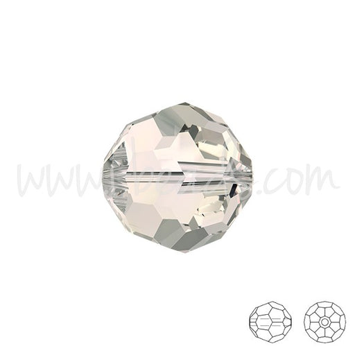 Perles rondes Swarovski 5000 crystal moonlight 8mm (4) - LaMercerieDesCopines