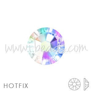 Strass Swarovski 2078 hotfix flat back crystal ab ss12-3mm (Pack de 1440 pieces) - LaMercerieDesCopines