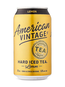 American Vintage Hard Iced Tea Lemon 6 pack