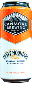 Canmore Brewing Misty Hops NEIPA 4 pack