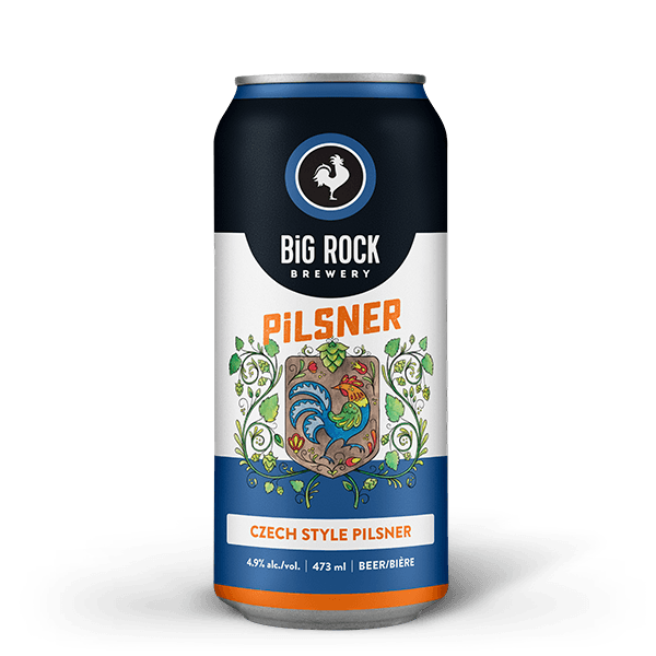 Big Rock Pilsner 1 can
