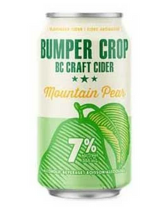 Bumper crop mountain pear cider 6 pack