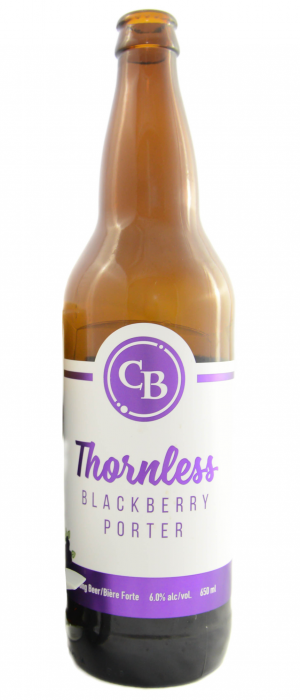 Cannery Brewing Thornless Blackberry Porter