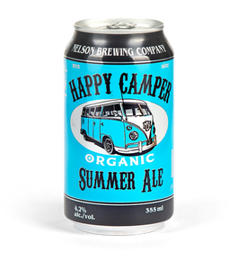 Nelson Brewing Happy Camper Summer Ale