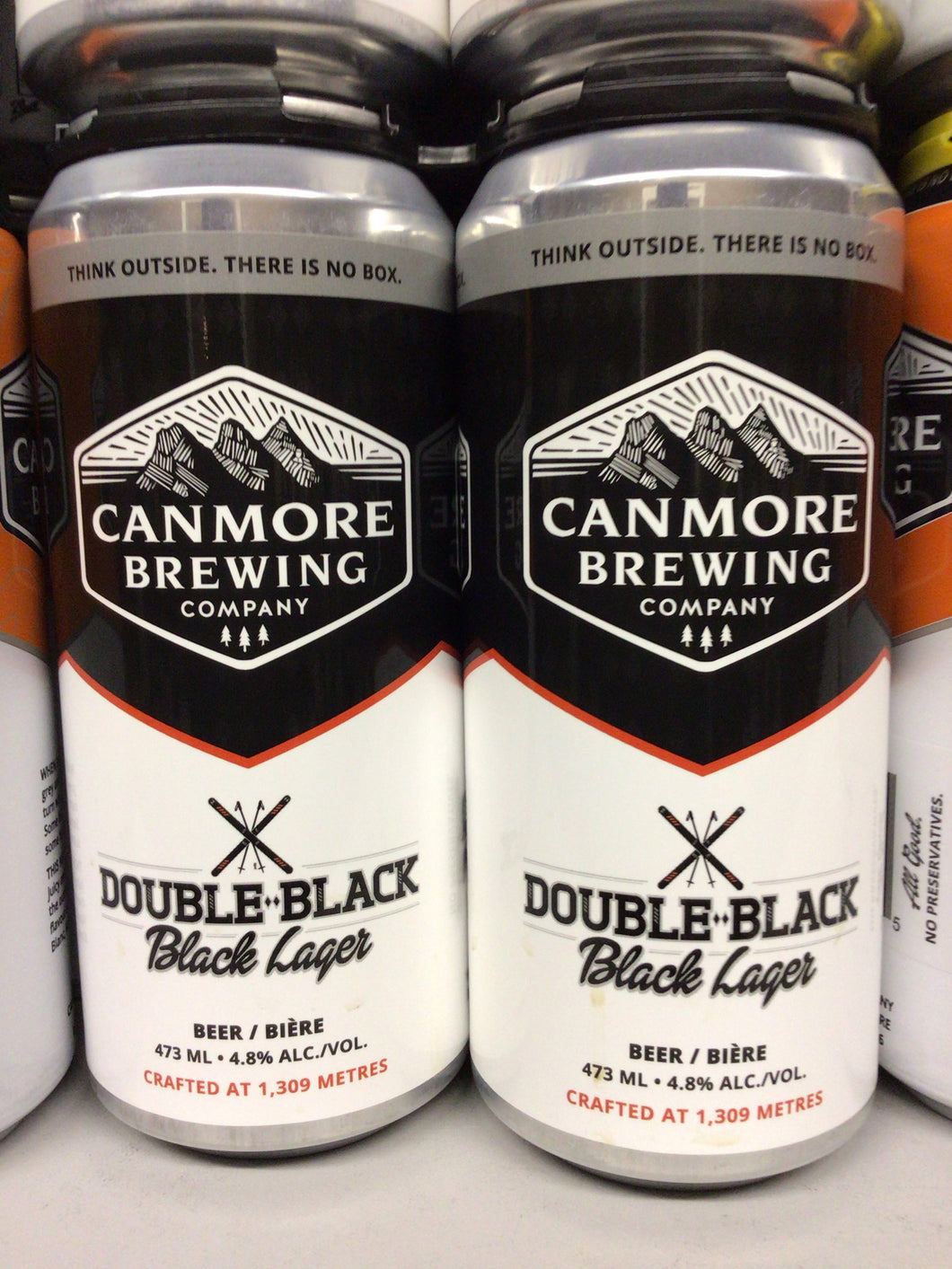 Canmore Brewing Double Black Lager