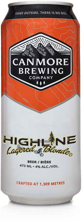 Canmore Brewing Highline 4 pack