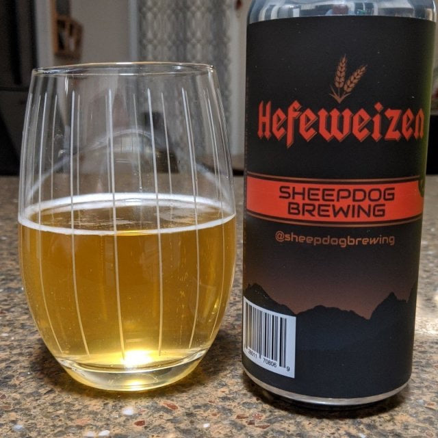 Sheepdog Brewing Hefeweizen