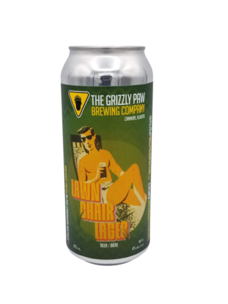 Grizzly Paw Lawn Chair Lager 4 pack