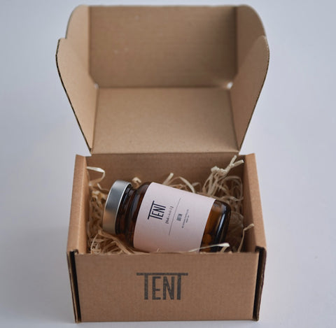 Tent nutrition shipping packaging box