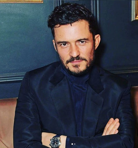 Orlando Bloom beard - mens grooming - best groomed British men