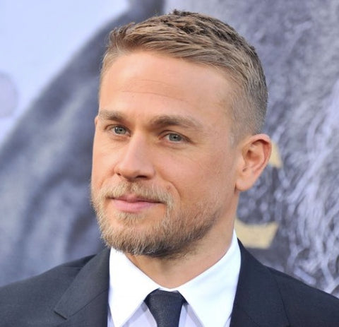 Charlie Hunnam beard- short hair- grooming - mens best groomed British men