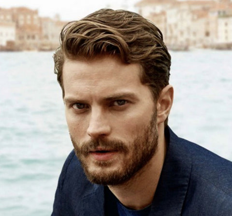 Jamie Dornan Hair and beard - best groomed British men