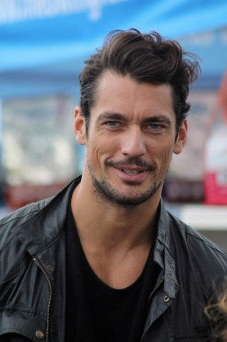 David Gandy style - hair - stubble - mens grooming - best mens groomed British men