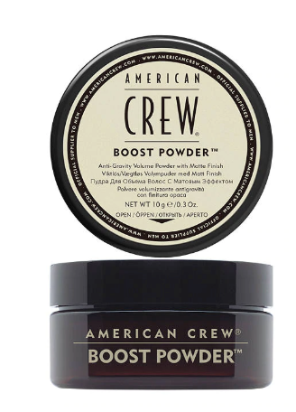 American Crew boost powder - tent nutrition
